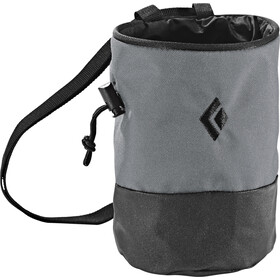 Black Diamond Mojo Zip Chalkbag M-L, ash